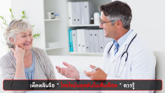 เห็ดหลินจือ โรคไขมันอุดตันในเส้นเลือด
